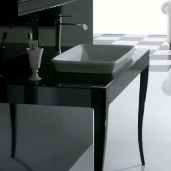 Piano cm 120 completo di lavabo cod. RE060.BI