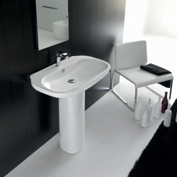 LAVABO 80 PER COLONNA ABC